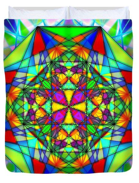 Cristal Logic Duvet Cover