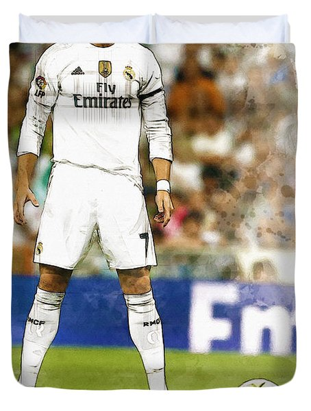 Cristiano Ronaldo Reacts Duvet Cover