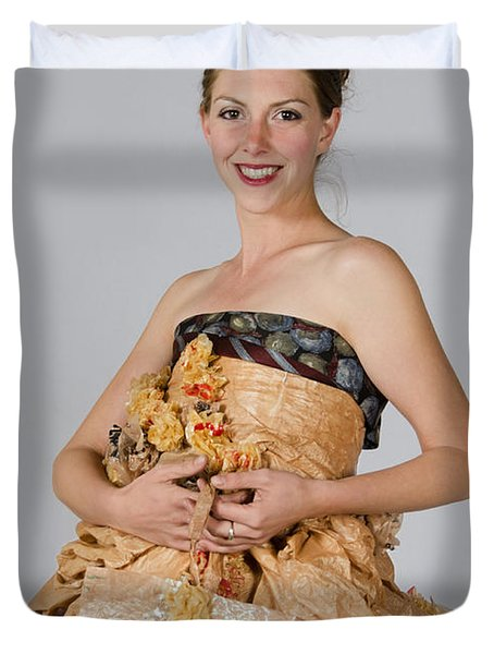 Cristina In Bring Your Own Bags Duvet Cover