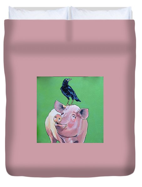 Cromwell The Crow Duvet Cover