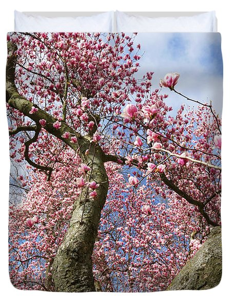 Crooked Magnolia Duvet Cover