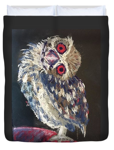 Crooked Owl Duvet Cover