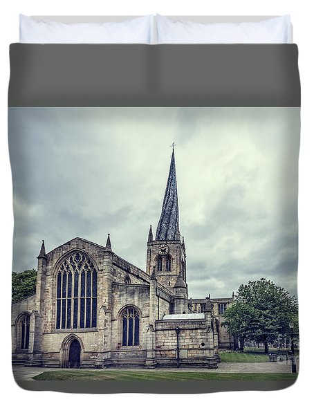 Crooked Spire Duvet Cover