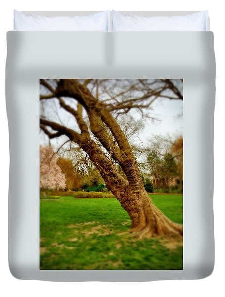 Crooked Tree Duvet Cover