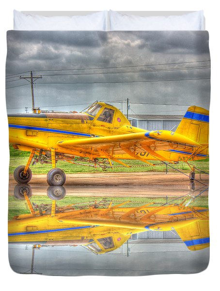 Crop Duster 002 Duvet Cover