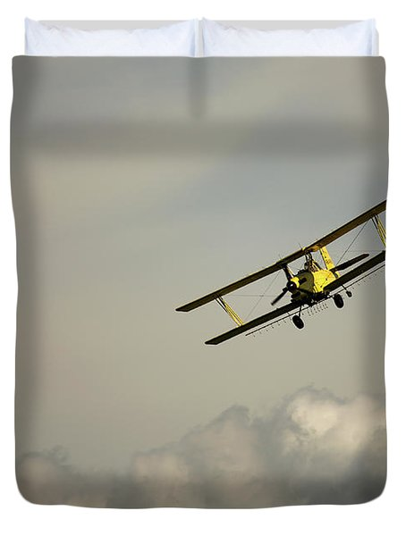 Crop Duster Duvet Cover
