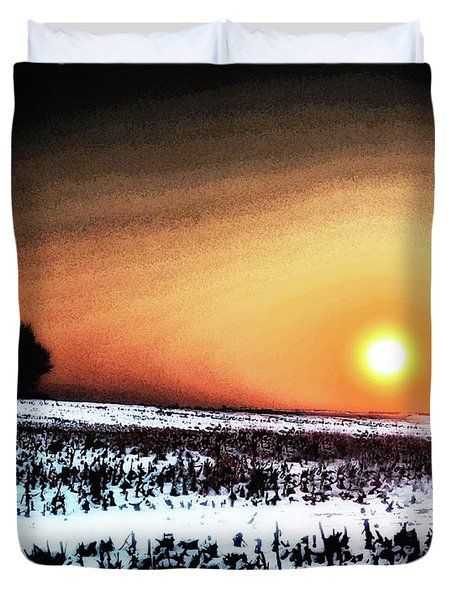 Crops In Duvet Cover