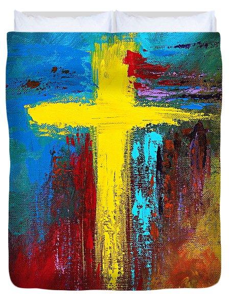 Cross No.2 Duvet Cover