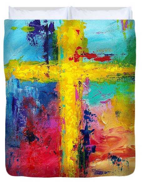 Cross 7 Duvet Cover