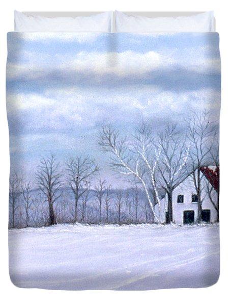 Cross Country Duvet Cover