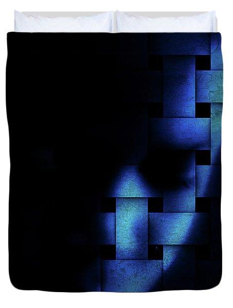Cross Pattern Duvet Cover