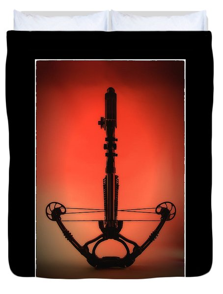 Crossbow Duvet Cover by Tim Nichols