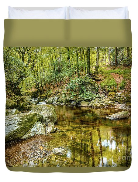 Crough Wood 1 Duvet Cover