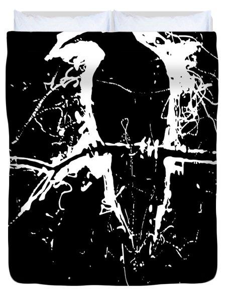 Crow Duvet Cover