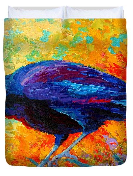 Crow IIi Duvet Cover