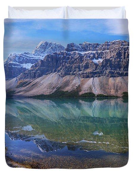 Crowfoot Reflection Duvet Cover