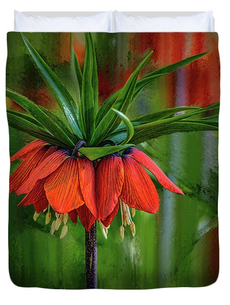 Crown-imperial Abstract #h5 Duvet Cover
