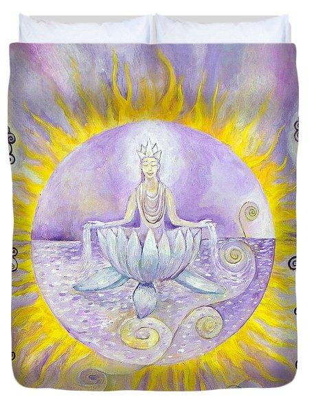 Crown Duvet Cover by Manami Lingerfelt