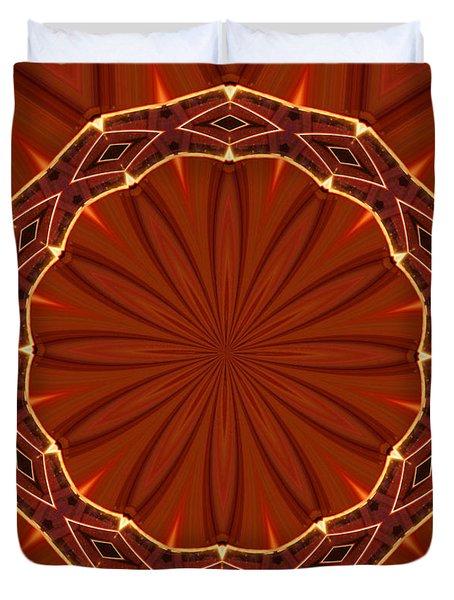 Crown Of Thorns Duvet Cover by Kristin Elmquist