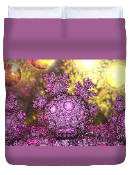 Crown Royale Duvet Cover