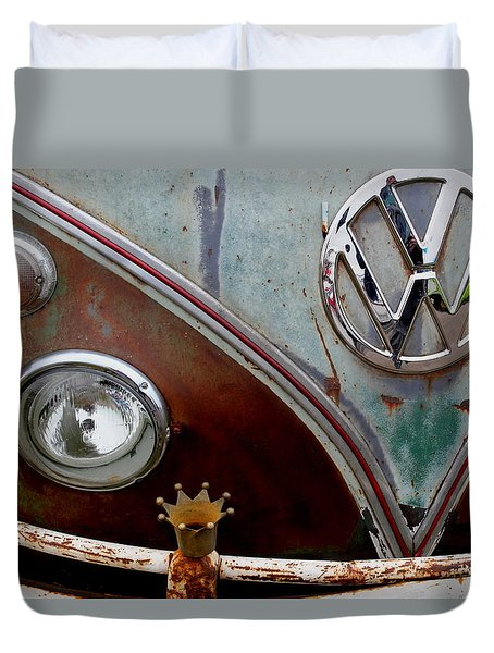 Crowned - Vw Duvet Cover