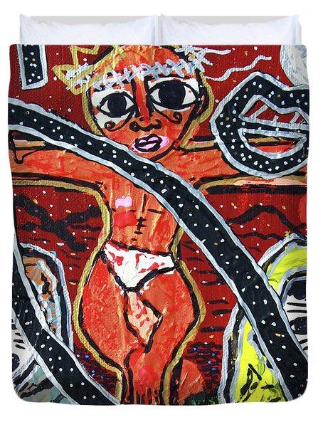 Crucifixion Duvet Cover