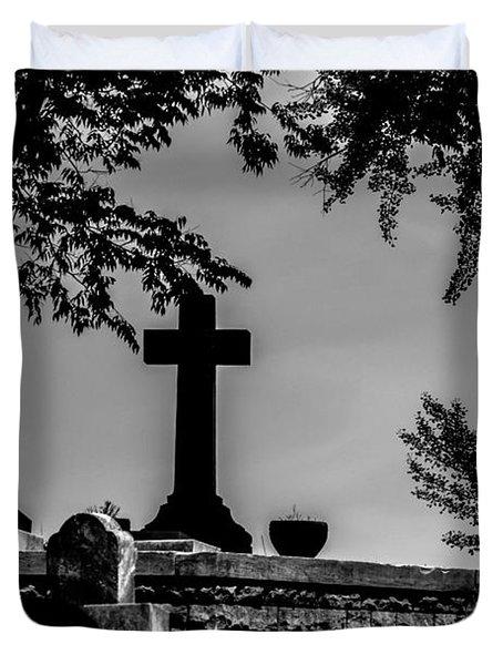 Crucis Duvet Cover