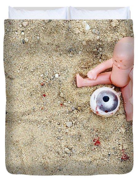 Cruel Games Duvet Cover by Michal Boubin