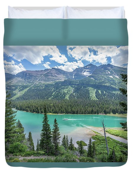 Cruise Control Duvet Cover by Alpha Wanderlust
