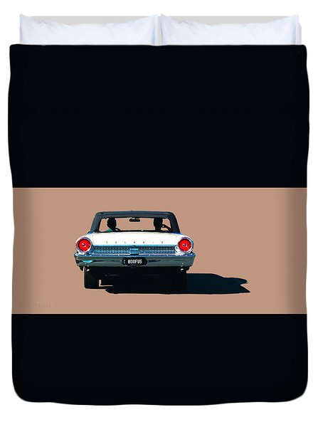 Cruisin' Duvet Cover
