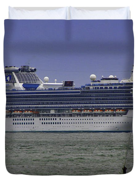 Cruising Duvet Cover