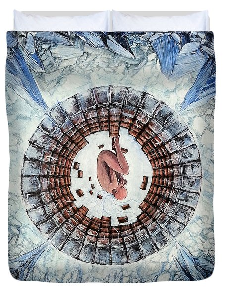 Cryo  Duvet Cover by Mariusz Zawadzki
