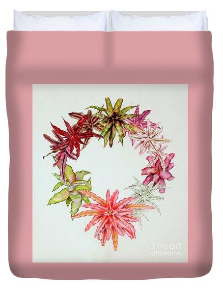 Cryptanthus Wreath Duvet Cover