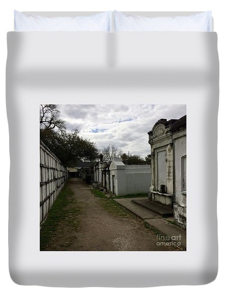 Crypts Duvet Cover