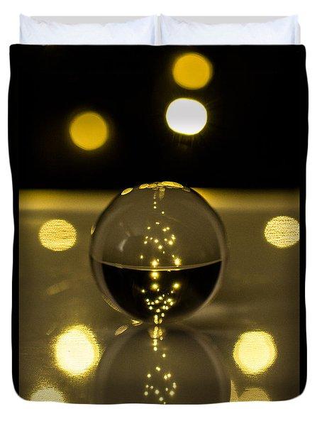 Crystal Ball Duvet Cover by Hyuntae Kim