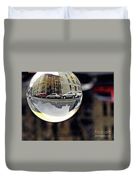 Crystal Ball Project 89 Duvet Cover by Sarah Loft