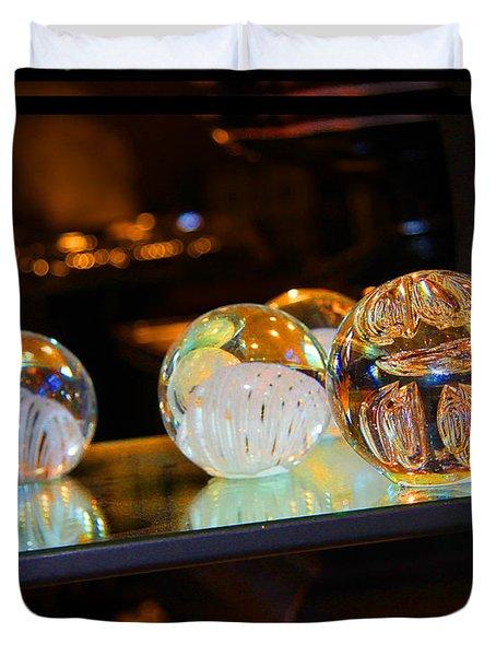 Crystal Balls Duvet Cover