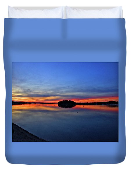 Crystal Blue Persuasion  Duvet Cover
