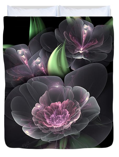 Crystal Bouquet Duvet Cover