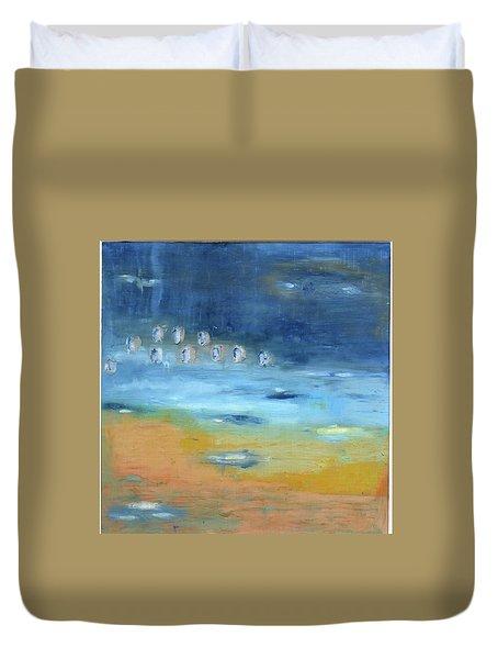 Crystal Deep Waters Duvet Cover by Michal Mitak Mahgerefteh