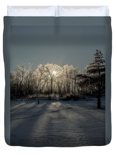 Crystal Glow Duvet Cover
