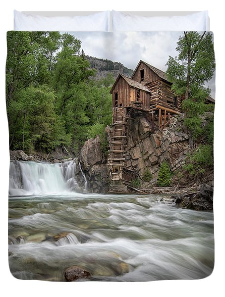 Crystal Mill Colorado 2 Duvet Cover