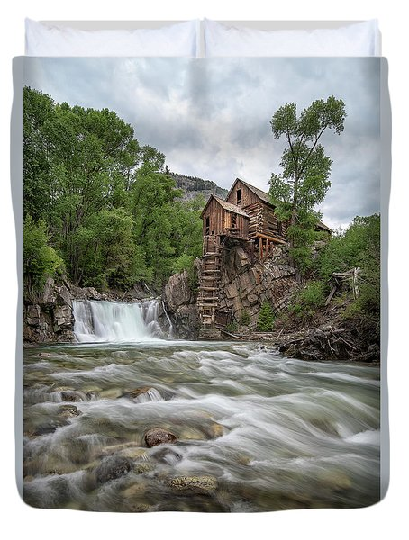 Crystal Mill Colorado 2 Duvet Cover