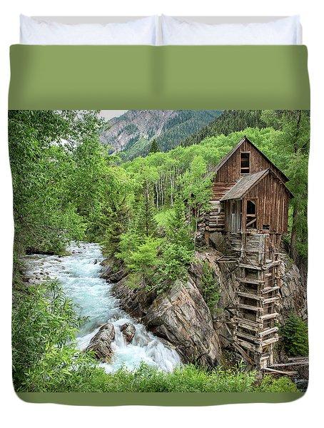 Crystal Mill Colorado 3 Duvet Cover