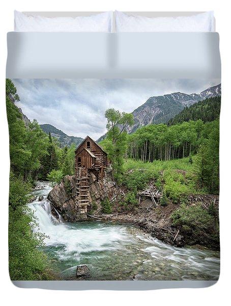 Crystal Mill Colorado 4 Duvet Cover
