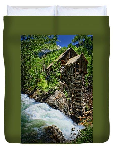 Crystal Mill Duvet Cover