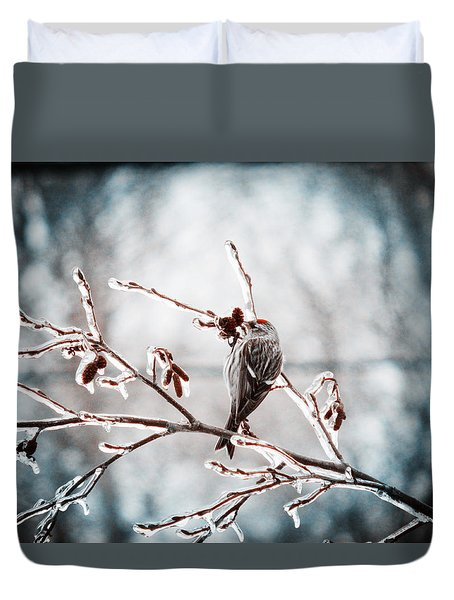 Crystal Morning Joy Duvet Cover