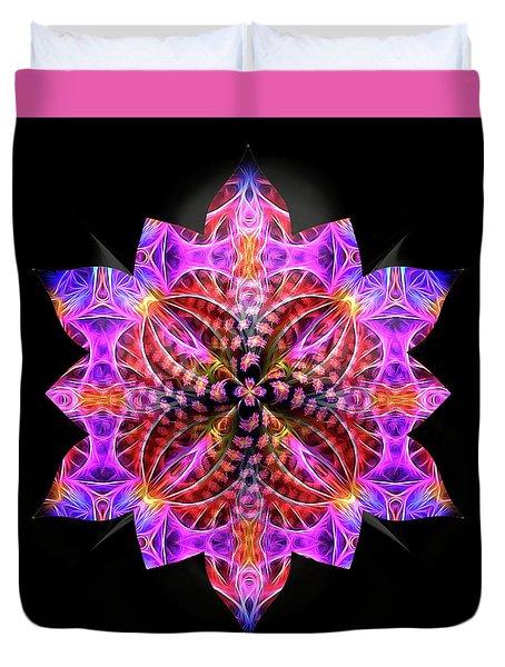 Crystal Petals Duvet Cover