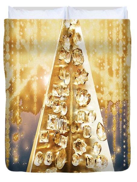 Crystal Tree Duvet Cover
