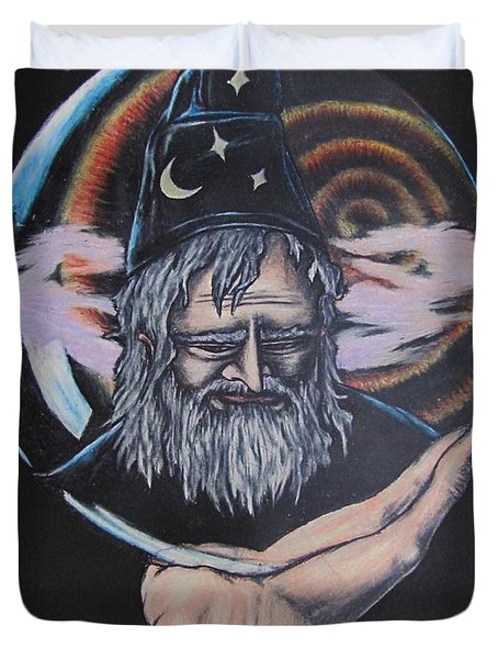 Crystal Wizard Duvet Cover